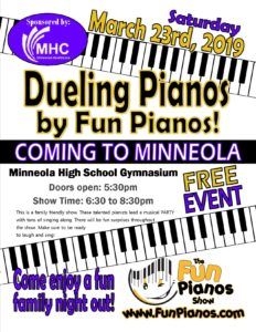 Dueling Pianos by Fun Pianos @ Minneola High School