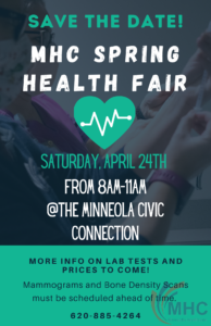 Spring Health Fair @ Civic Connection